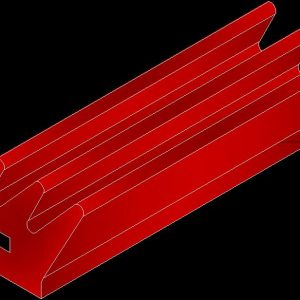 5000-195R 3 Finger Gripper Red